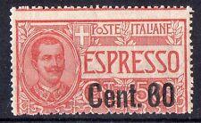 1922 REGNO ESPRESSO 60 CENTESIMI SU 50 INTEGRO C/3694