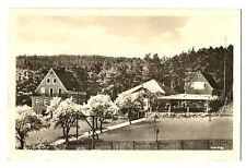 alte Postkarte Ferienheim der Methodistenkirche Schwaezenshof bei Rudolstadt