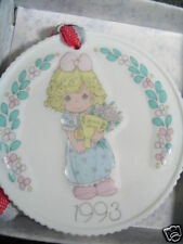 Precious Moments Ornament 1992 You'Re My #1 Friend New Old Stock