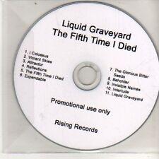 (DB5) Liquid Graveyard, The Fifth Time I Died - DJ CD