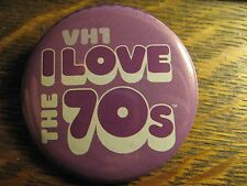 VH1 Video Hits I Love The 70's Television Advertisement Lipstick Pocket Mirror