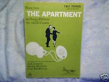1960 The Apartment Movie Sheet Music jack lemmon shirley maclaine,fred macmurray