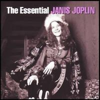 JANIS JOPLIN (2 CD) THE ESSENTIAL D/Rem CD ~ BEST OF / GREATEST HITS 60's *NEW*