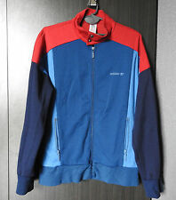 True Vintage Adidas Track Jacket 1980s Made in Yugoslavia Size M/L