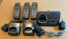 Panasonic KX-TG4131 Home Home Phone Answering Machine W/ 3 Handsets