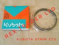 Kubota V2203, V2403, D1703 piston ring set Std 87mm for one piston (3 rings)