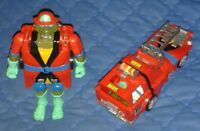 1993 ** ROAD READY MUTATION LEO FIRE ENGINE ** TEENAGE MUTANT NINJA TURTLES TMNT