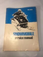 1971 5th edition Snowmobile service manual