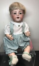 """13"""" Antique German Simon Halbig K Star R Bisque Doll 128 Baby Repainted Body #SF"""