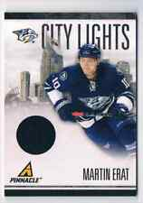 2010-11 PINNACLE CITY LIGHTS JERSEY MARTIN ERAT JERSEY 1 COLOR 458/499 CS