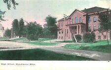 Hutchinson,Minnesota,High School,McLeod County,c.1909