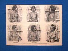 Tipi Galla nel 1889: Donne e uomini Zingeri - Donna Gimma