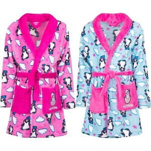 New Girl Bathrobe Dressing Gown Hatchimals Turquoise Pink 98 104 110 116 #600