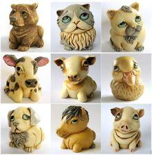 Lot of 9 x Baby Animal Oddbods - NIB - Hard Body Figurines - MPS Harmony Kingdom