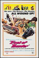 NASHVILLE SPEEDWAY original 1967 one sheet movie poster STOCK CAR AUTO RACING