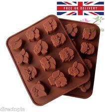 Silicona 12 OWL Pastel Decoración Molde Molde Para Jabón Chocolate Dulces Galletas