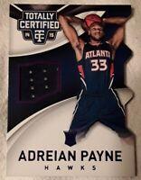 🏀2014 totally certified ADREIAN PAYNE (jersey patch/rookie/#d/purple foil)#89🏀