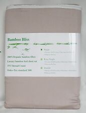 100% Organic Bamboo Luxury Bed Sheet Set 375TC - Single Size