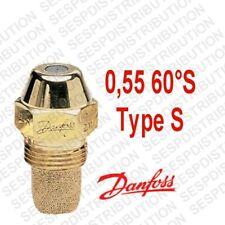 gicleur DANFOSS S débit 0,55 60 °S nozzle fioul 030F6910 en stock