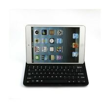 Aluminum Case and Wireless Bluetooth Keyboard Cover for Apple iPad Mini, Black