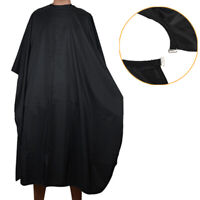 Black Hair Cutting Cape Large Salon Hairdressing Hairdresser Gown Barber Cloth