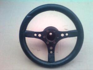 Mugello Sport Lenkrad 3-Speichen schwarz 340 mm 34 cm