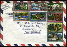 NIUE 1988 Cover to New Zealand - great franking - Alofi cds................18586