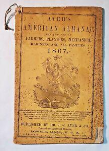 Ayer's American Almanac 1867