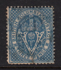 British Columbia 1867 Issue #7  Used  Fine  CV $160.00  See*