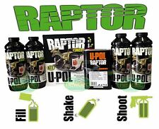 RAPTOR BY U-POL UPOL BLACK BED LINER KIT 2 PACK URETHANE COATING