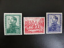 D.D.R. 286-288 Mao 1951  postfris-MNH 300 euro mi
