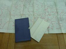 "1931 DEVON HUNDREDS AND PARISHES 2 MAP SET CASED 40 X 24"" ORDNANCE SURVEY"