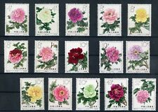[G27513] China 1964 : Flowers - Good Set of Very Fine MNH Stamps - $750
