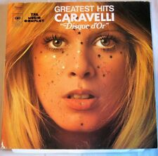 GREATEST HITS CARAVELLI '' DISQUE D'OR ''  33T