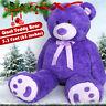 "63"" Giant Plush Teddy Bear Big Huge Stuffed Animals Toy Christmas Holiday Gifts"