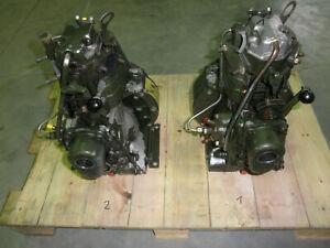Hatz Diesel Motor 673 1 Zylinder Motor von der Bundeswehr Nr.1