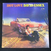 David Essex - Hot Love - LP Vinyl UK Pressing  6359017 MERCURY 1980 Good Cond