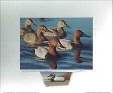 CALIFORNIA #31 2001 STATE DUCK PRINT Robert Steiner, Color Remarque #42/150
