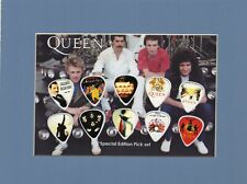 Queen Matted Picture Guitar Pick Set Limited A Night At The Opera Stone Cold