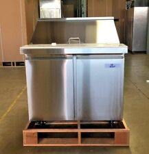 "New 36"" Commercial Mega Top Refrigerator Model Sclm2-36 Nsf Sandwich Salad etc"