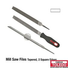 TOLEDO Tapered Mill Saw File Second Cut - 150mm 12 Pk 060302BU x12