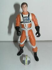 """Star Wars Wedge Antilles 1999 Power of the Force 2 POTF2 3-3/4"""" Scale b"""