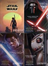 STAR WARS THE FORCE AWAKENS BUS SHELTER POSTERS SET EXTREMLY RARE LARGE POSTERS