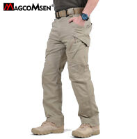 IX9 W/ Zipper Pocket Mens Tactical Cargo Pants Army Work Training Pants Trousers