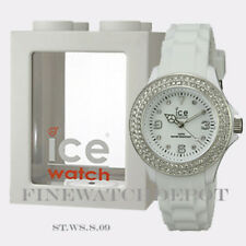 Authentic Ice Sili White Stone Small Watch ST.WS.S.S.09