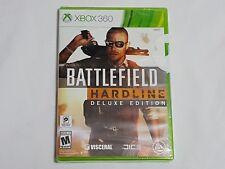 NEW (w/ WEAR) Battlefield Hardline DELUXE EDITION XBox 360 SEALED Game US NTSC