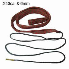 6mm Bore Snake Cleaning 6mm .243 Cal Gun Rifle Cleaning Kit Airsoft Cleaner Rope