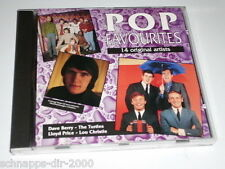 Pop Favourites 14 original Artists CD DAVE BERRY the turtles Lloyd price Lou Chr