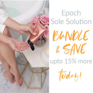 BEST SELLER - EPOCH SOLE SOLUTION FOOT TREATMENT | NU SKIN BODY | FREE SHIPPING