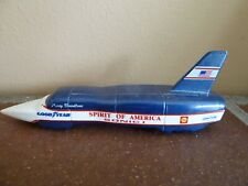 Vintage LLEDO 1965 Spirit of America Sonic 1 Toy Car Blue Collectible Prop
